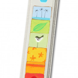Hand made Mezuzah case with authentic elements