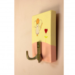 Childrens Peg rack, girls coat hanger, towel rack - fairy nursery decor