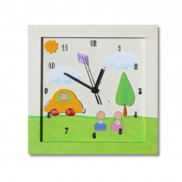 Wall Clocks.Boutique Wall Clocks.Custom Clocks.Childrens Clocks.Transportation.Car