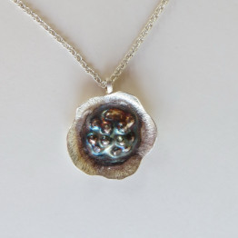 Ideal Bat Mitzvah Gift- Wild Flower Necklace