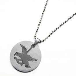 men's eagle pendant Silver stainless steel necklace, Gift Necklace, Jewelry Necklace, Necklace father Gift, Unique, Jewelry Gifts, Necklace Jewelry