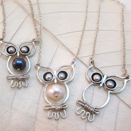 Silver Owl necklace. women necklaces. Holidays gift idea.