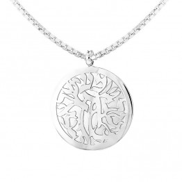 AHARONI S.Steel Shema Israel Pendant Inscription: Hear O Israel. Come's with S.Steel Chain 60cm (SA1715)