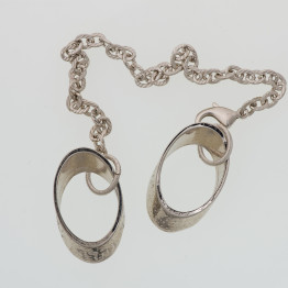 Tallit Jewelry  Negev Tallit Ring with Chain