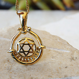 Gold Filled 14 k Star of David Necklace-Bat mitzvah gift idea-Hanukkah Gift Judaic Jewelry