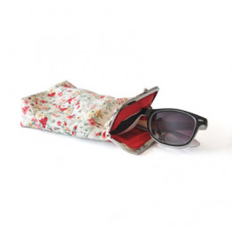 Sunglasses Case - Spring Floral cotton