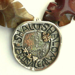 Peace for Jerusalem necklace