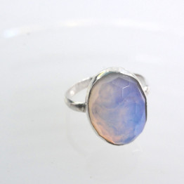 Opalit Ring 925 Sterling Silver With Opalit Stone Handmade