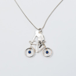 Bicycle Necklace Pendant